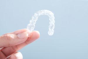 Invisible aligners plastic braces dentistry